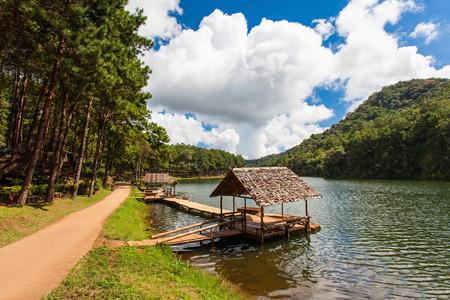pang: The beautiful Pang Oung Reservoir in Ban Ruam Thai near Mae Hong Son is Thailands own little Switzerland