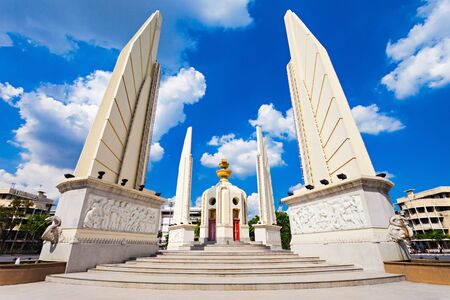 The Democracy Monument is a public monument in the centre of Bangkok, capital of Thailand