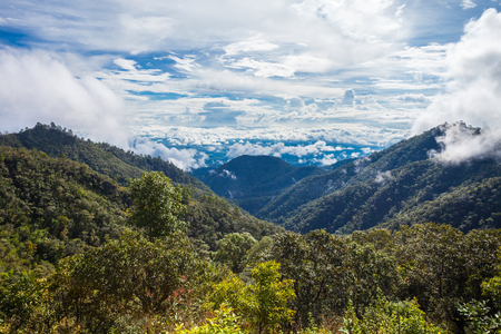 chiang mai: Doi Ang Khang mountain in Chiang Mai Province, Northern Thailand.
