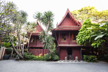 jim: The Jim Thompson House is a museum in Bangkok, Thailand Editorial