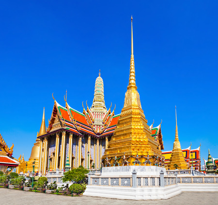 regarded: Wat Phra Kaew (Temple of the Emerald Buddha) is regarded as the most sacred Buddhist temple in Thailand