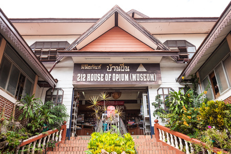 Hall of Opium Museum, Golden Triangle, Chiang Rai Province, Thailand