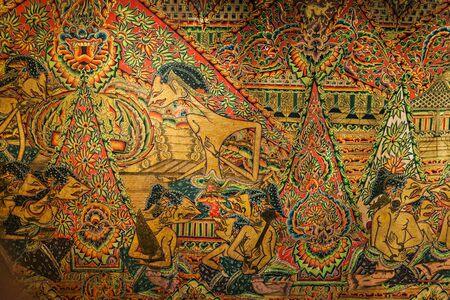 civilisations: SINGAPORE - OCTOBER 15, 2014: Javanese art in Asian Civilisations Museum interior. Editorial