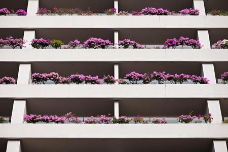 hotel exterior: SINGAPORE - OCTOBER 18, 2014: Marina Bay Sands Hotel exterior. Editorial