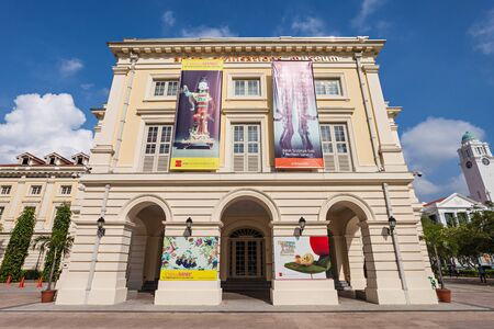 civilisations: SINGAPORE - OCTOBER 17, 2014: The Asian Civilisations Museum is one of the pioneering museums in the region to specialise in pan-Asian  cultures and civilisations.