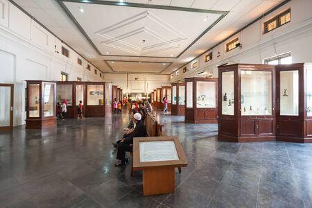 JAKARTA, INDONESIA - OCTOBER 19, 2014: The National Museum of Indonesia interior.