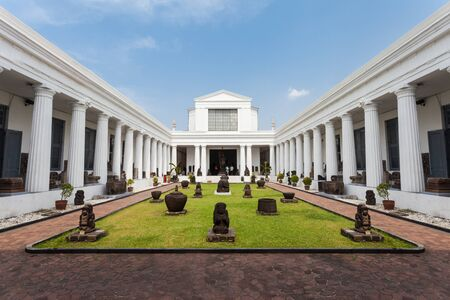 JAKARTA, INDONESIA - OCTOBER 19, 2014: The National Museum of Indonesia.