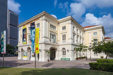 pioneering: SINGAPORE - OCTOBER 17, 2014: The Asian Civilisations Museum is one of the pioneering museums in the region to specialise in pan-Asian  cultures and civilisations.