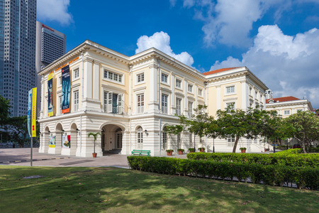 SINGAPORE - OCTOBER 17, 2014: The Asian Civilisations Museum is one of the pioneering museums in the region to specialise in pan-Asian  cultures and civilisations.