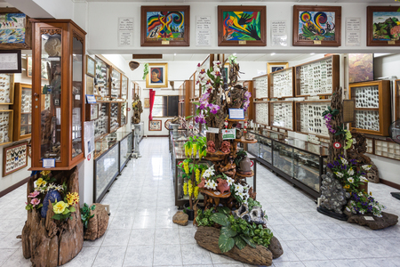 mai: CHIANG MAI, THAILAND - OCTOBER 29, 2014: Museum of World Insects and Natural Wonders interior, Chiang Mai, Thailand.