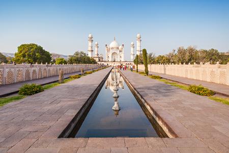 love dome: Bibi-qa-Maqbara is widely known as the poor mans Taj in Aurangabad, India