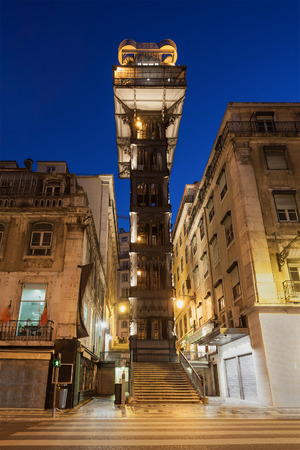 elevador: The Santa Justa Lift also called Carmo Lift is an elevator in Lisbon