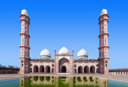namaz: Taj Ul Masajid is a mosque situated in Bhopal, India
