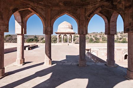 madhya: Rupmati Pavilion in Mandu, Madhya Pradesh, India