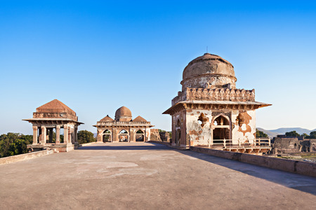pradesh: Royal Enclave in Mandu, Madhya Pradesh, India Stock Photo
