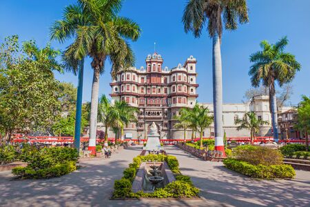Rajwada is a historical palace in Indore city, India Editorial