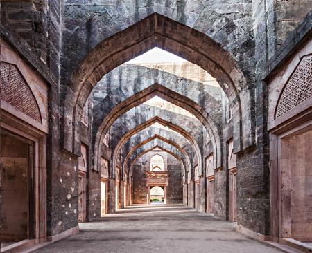 enclave: Royal Enclave in Mandu, Madhya Pradesh, India Stock Photo