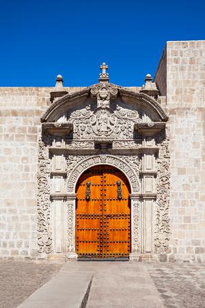 domingo: Santo Domingo Church in Arequipa city, Peru