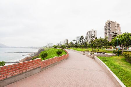 lima province: Miraflores is a district of the Lima Province in Peru Stock Photo