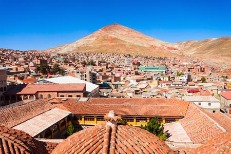 lorenzo: Potosi panoramic view from San Lorenzo Church, Bolivia