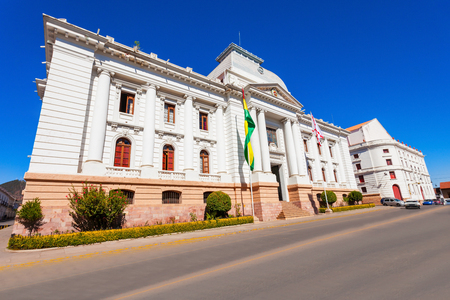 constitutional: Supreme Court Of Bolivia In Sucre is located in Sucre, the constitutional capital of Bolivia Editorial