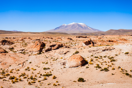 stratovolcano: Ollague volcano is a massive stratovolcano on the border between Bolivia and Chile.