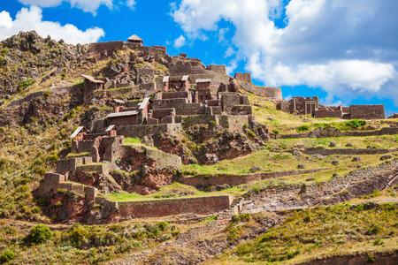 pisaq: Qalla Qasa is the citadel in Pisac, Peru