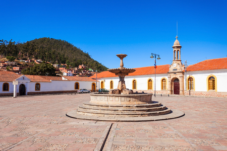 constitutional: La Recoleta Santa Ana Monastery is a franciscan monastery in the city of Sucre, the constitutional capital of Bolivia.