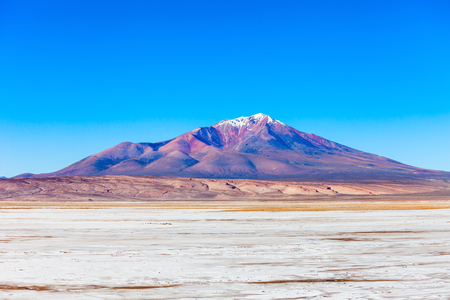 stratovolcano: Ollague or Ullawi is a massive andesite stratovolcano in the Andes on the border between Bolivia and Chile.