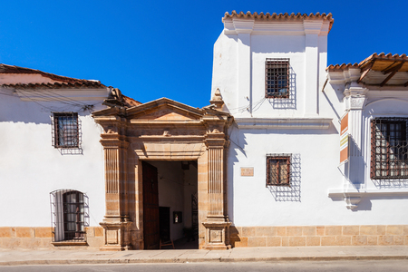 anthropological: Museo Charcas (University Museum Colonial and Anthropological) in Sucre, Bolivia