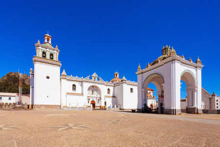 church of our lady: Basilica of Our Lady of Copacabana Church in Copacabana, Bolivia