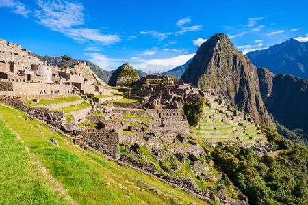 lost city: Machu Picchu Lost city of Inkas in Peru