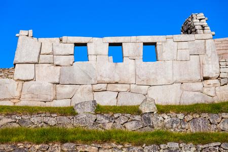 View of the Lost Incan City of Machu Picchu near Cusco, Peru. Stock Photo - 53930612