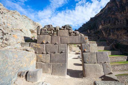 inca ruins: Ollantaytambo is a town and an Inca ruins near Cusco in southern Peru.