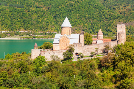 kilometres: Ananuri Castle is located about 70 kilometres from Tbilisi.