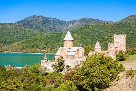 kilometres: Ananuri Castle is located about 70 kilometres from Tbilisi. Its UNESCO World Heritage Site.