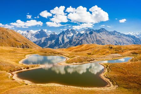 mestia: Trekking to Koruldi Lake, Mestia in Upper Svaneti region, Georgia