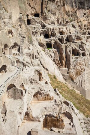 rustaveli: Vardzia is a cave monastery site excavated from the Erusheti Mountain. The main period of construction was the second half of the twelfth century.