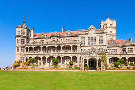 institute: Viceregal Lodge (Indian Institute of Advanced Study) is a research institute  in Shimla, India Stock Photo