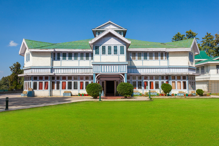 anthropological: The Himachal State Museum is a colonial building that was built with the aim of preserving the cultural and archaeological artefacts in Shimla, India