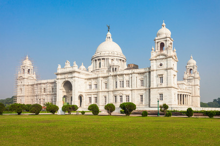 calcutta: The Victoria Memorial is a large marble building in Kolkata, West Bengal, India. It is dedicated to the memory of Queen Victoria. Editorial