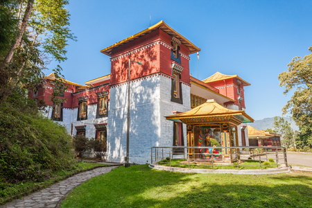 dalai: Namgyal Institute of Tibetology is a Tibet museum in Gangtok, Sikkim state in India