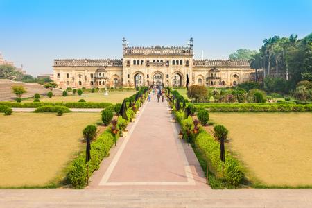 uttar: Bara Imambara is an imambara complex in Lucknow, Uttar Pradesh in India Editorial
