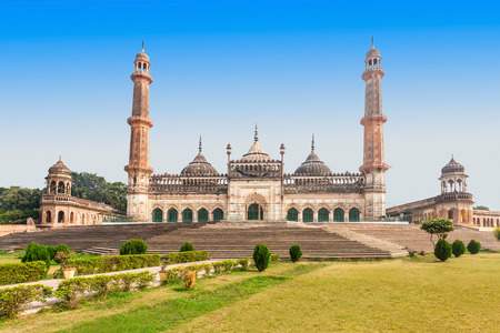 The Asfi Mosque, located near the Bara Imambara in Lucknow, India
