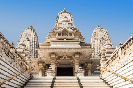 krishna: Birla Mandir is a Hindu temple located in Kolkata, India