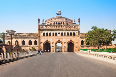 The Rumi Darwaza (Turkish Gate) in Lucknow, Uttar Pradesh state of India is an imposing gateway. It is an example of Awadhi architecture.