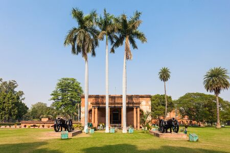 residency: Museum at the British Residency complex in Lucknow, India Editorial