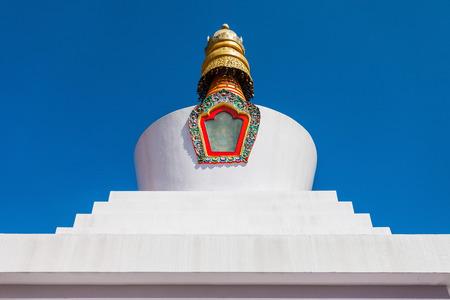 buddhist stupa: Do Drul Chorten is a buddhist stupa in Gangtok in the Indian state of Sikkim