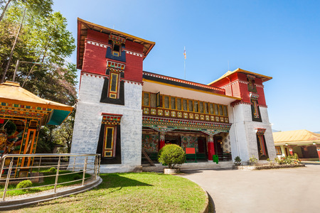 institute is holy: Namgyal Institute of Tibetology is a Tibet museum in Gangtok, Sikkim state in India