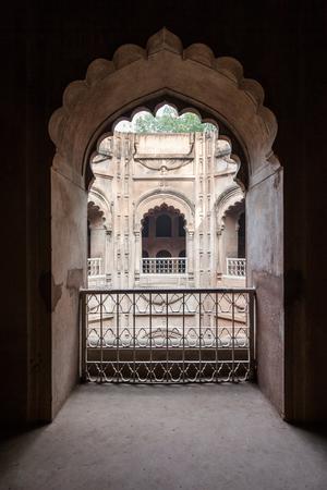 hamam: LUCKNOW, INDIA - NOVEMBER 15, 2015: Shahi Hamam Bouli royal bath at Bara Imambara complex in Lucknow, Uttar Pradesh in India.